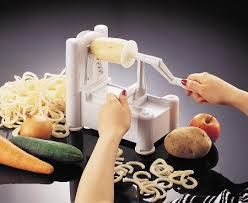 Vegetable Noodle Makers in Action