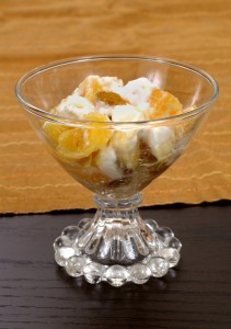 Add some nuts to your fruit salad for a long life.